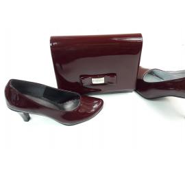 Małe buty W/E-00145 R  31,32,33,34,35