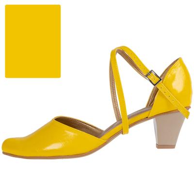 Żółty bananowy / spód cielisty