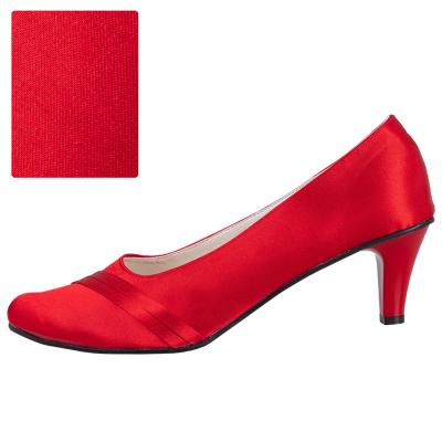 Czerwony / spód czarny