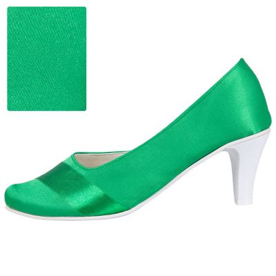 Zielony / spód biały